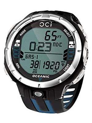 Oceanic OCi Wireless Dive Watch Comp with Transmitter and Battery Kit