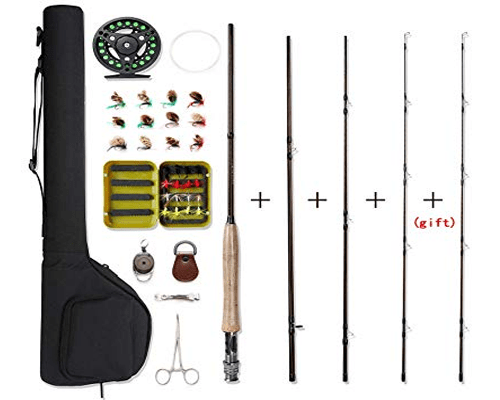 NetAngler Fly Fishing Rod and Reel Combo