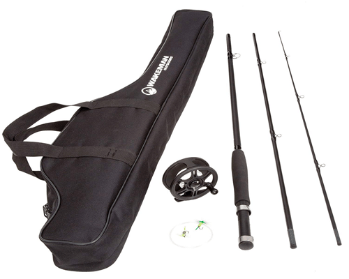 Wakeman Charter Series Fly Fishing Combo