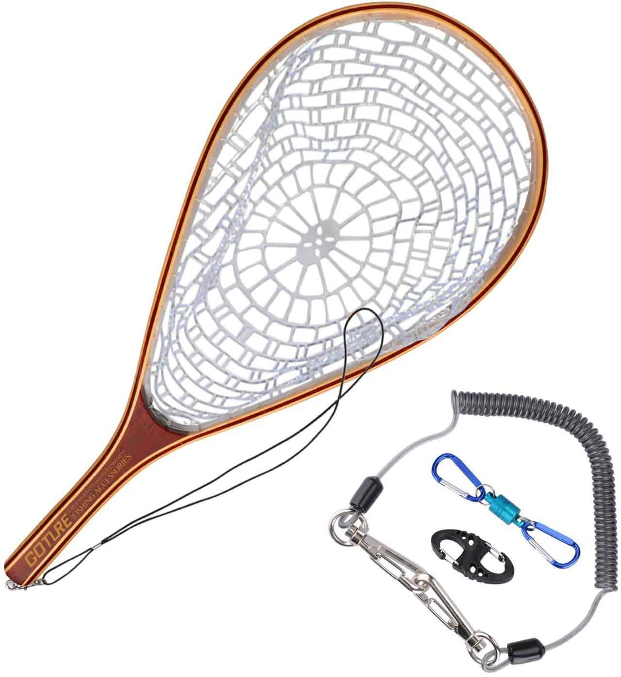 Fly Fishing Net Catch by Goture