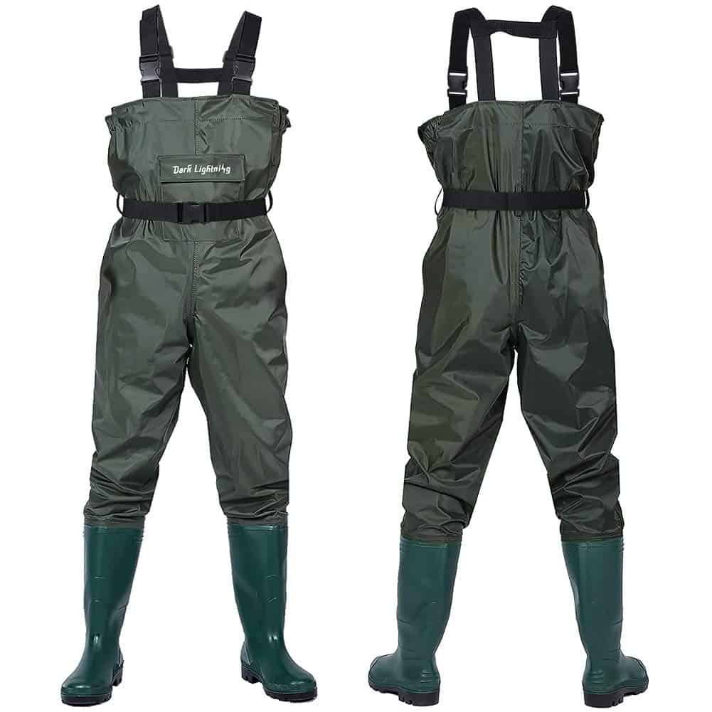 Fly Fishing Waders for Men and Women by Dark Lightning