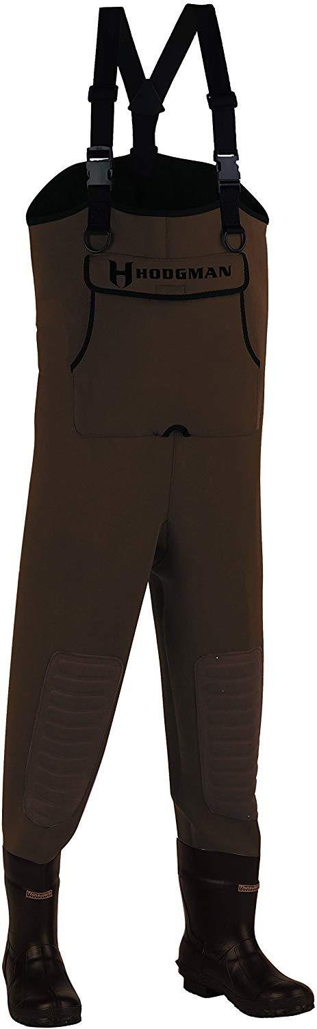 Neoprene Chest Wader with Cleated Boots by Hodgman for fly fishing