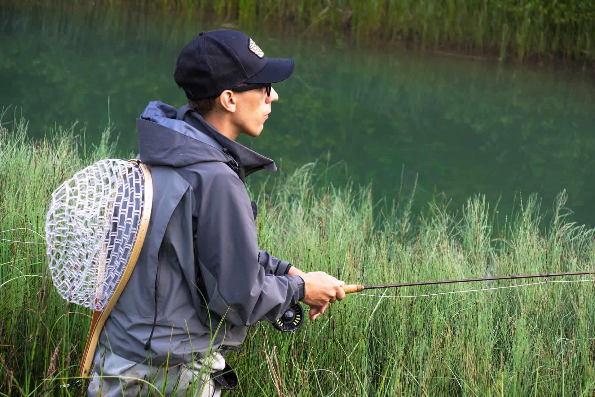 best rubber fishing net