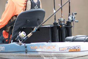 Fishing crate upgrade for kayak