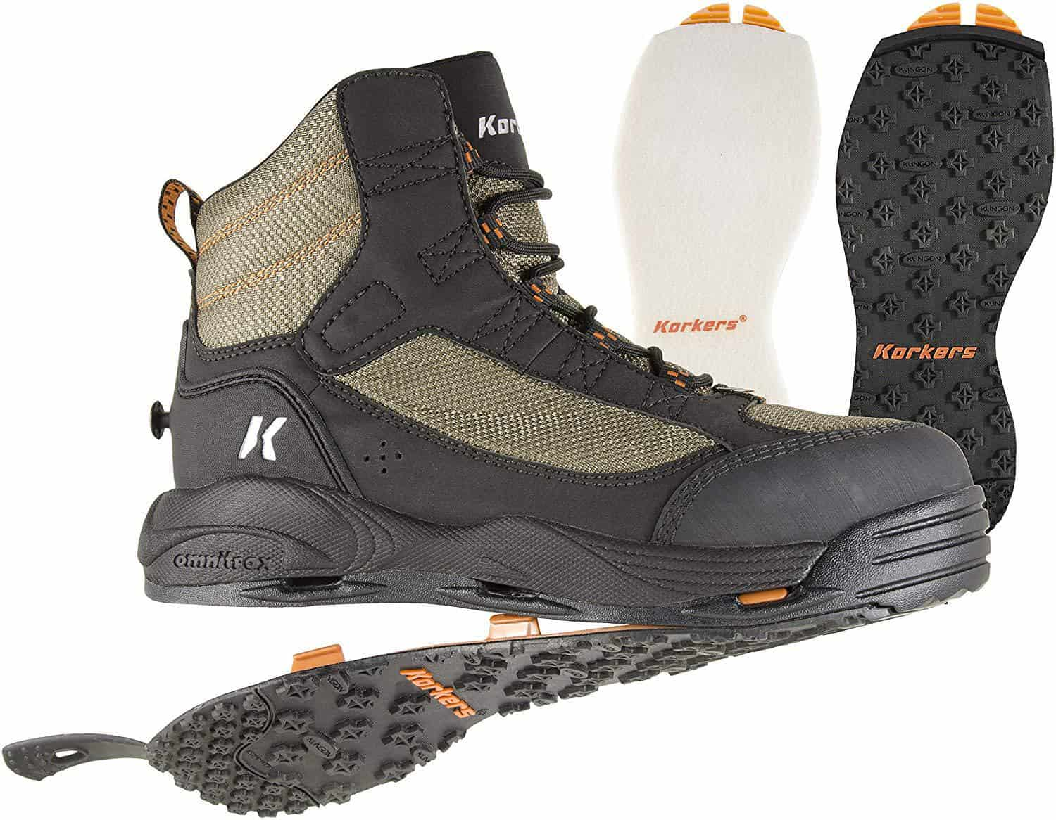 Greenback Wading Boots by Korkers