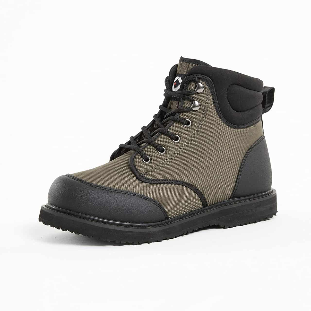 Men's Rubber Sole Wading Boots by Duck & Fish