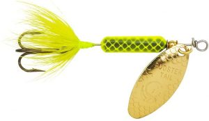Worden's Original Rooster Tails lure for trout fishing