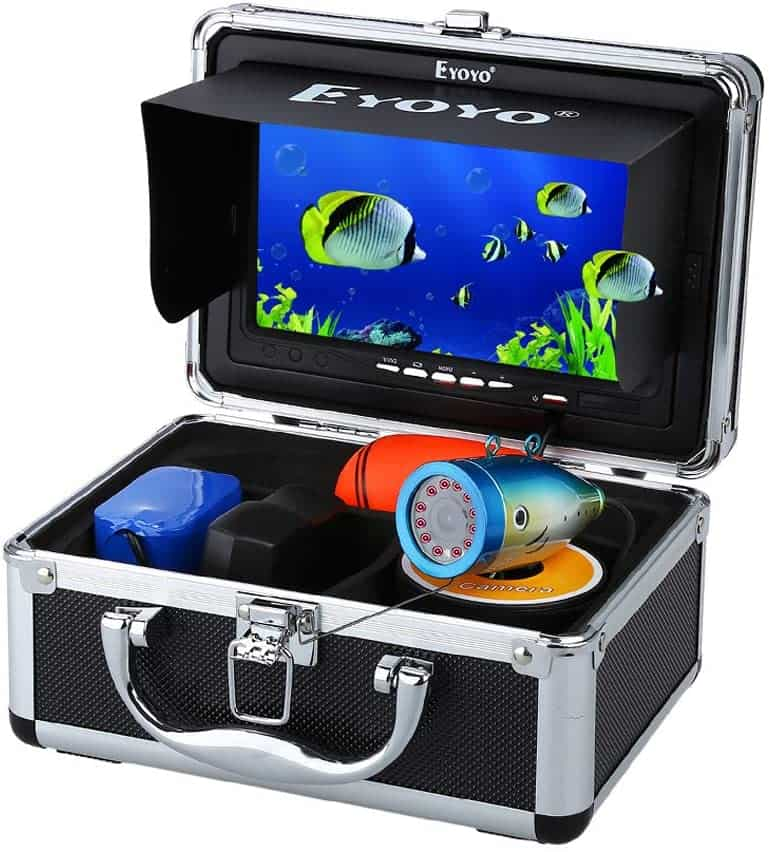 "7"" LCD Underwater Portable Camera for Fishing by Eyoyo"