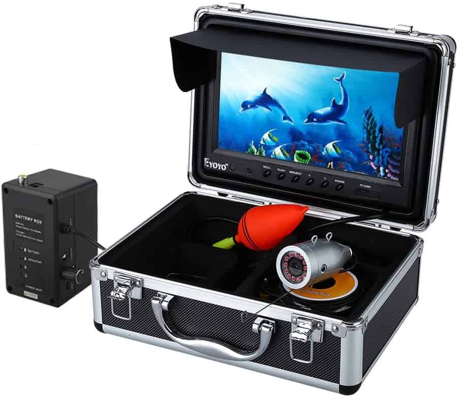 "9"" LCD Mobile Fish Finder Video Camera by Eyoyo"