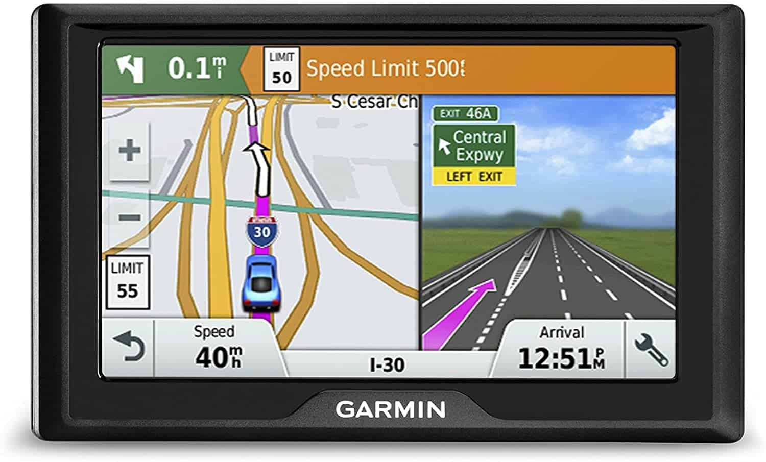 Drive 50 Navigation GPS Device by Garmin
