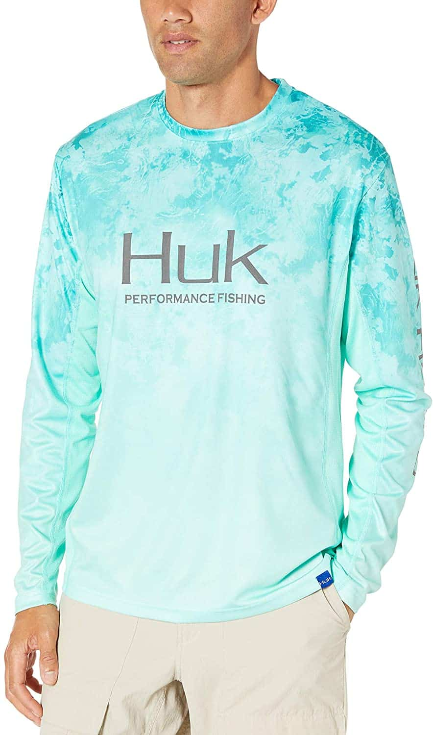 Long Sleeve Camo Fade Fishing Shirt by HUK