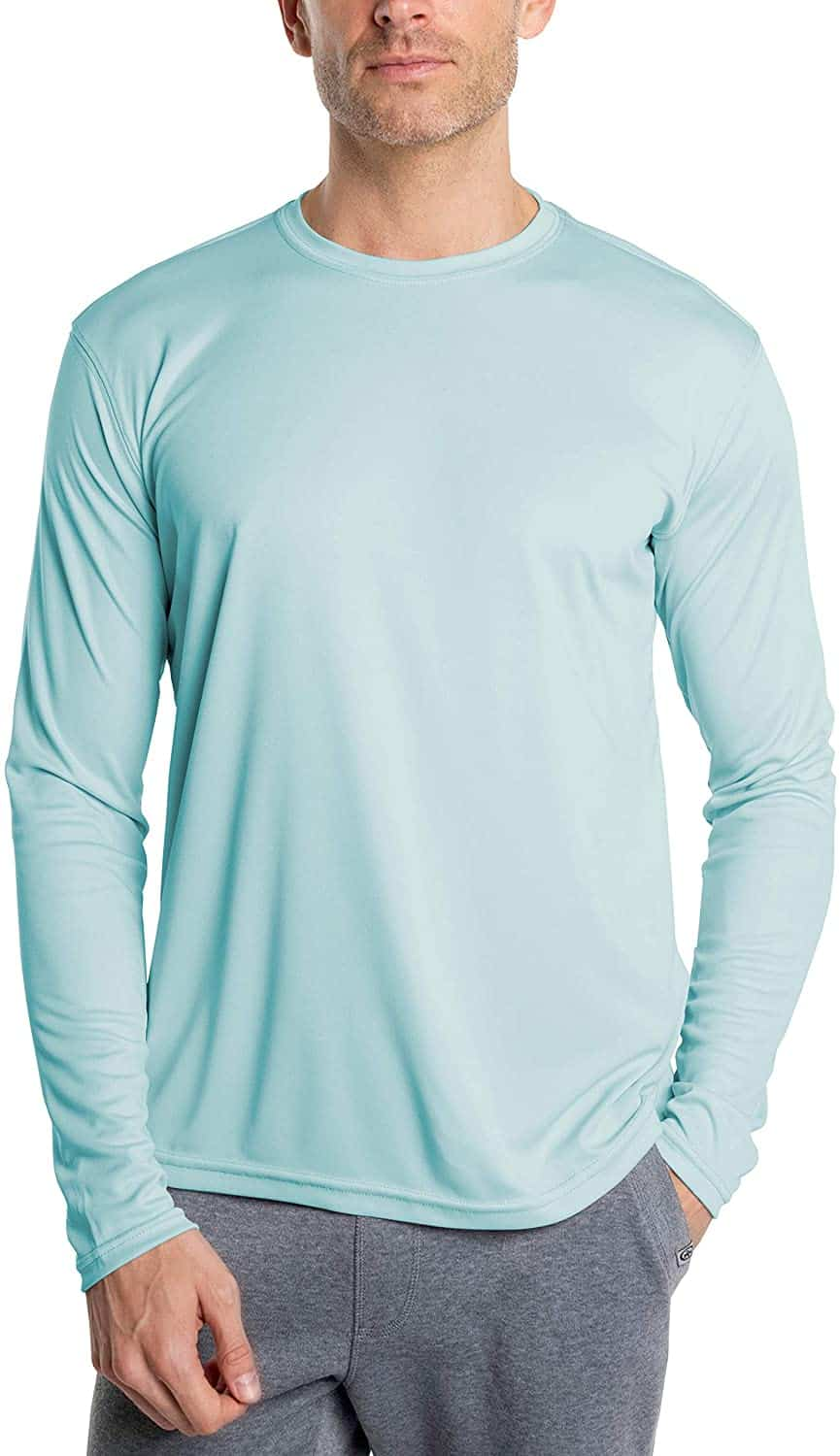 Long Sleeve Sun Protection Fishing Shirt by Vapor Apparel