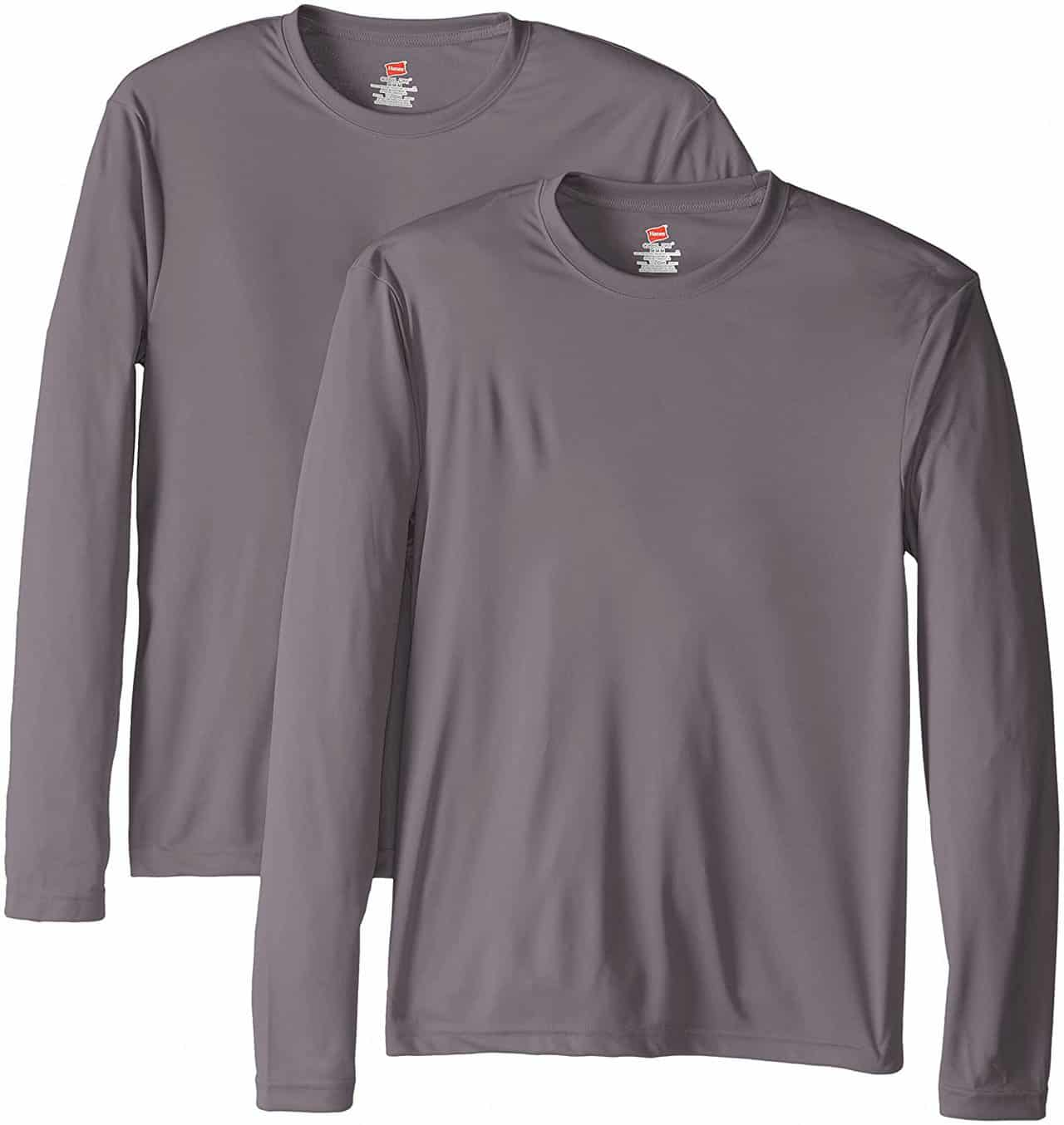 Long Sleeve UPF50+ Fishing Shirt by Hanes