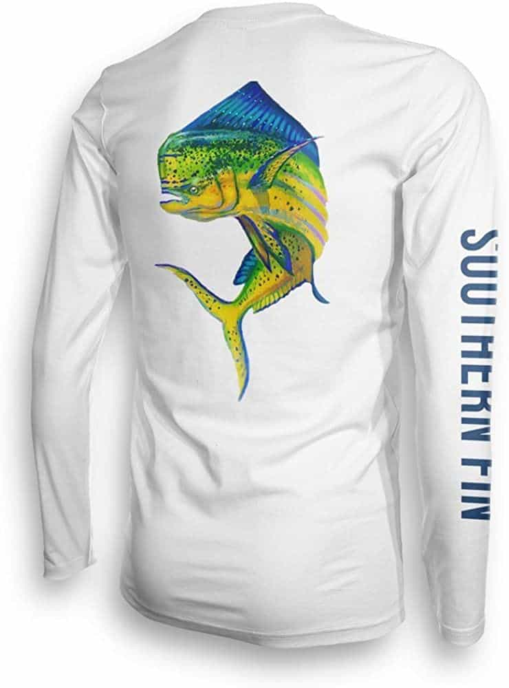 Long Sleeve Unisex UPF50 Fishing Shirt by Southern Fin Apparel