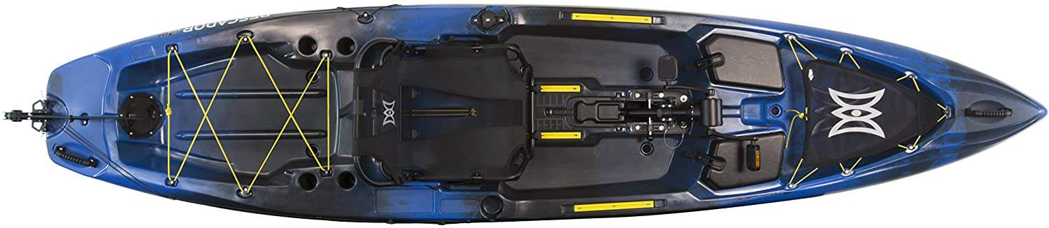 Pescador Pilot Fishing Kayak by Perception Kayak