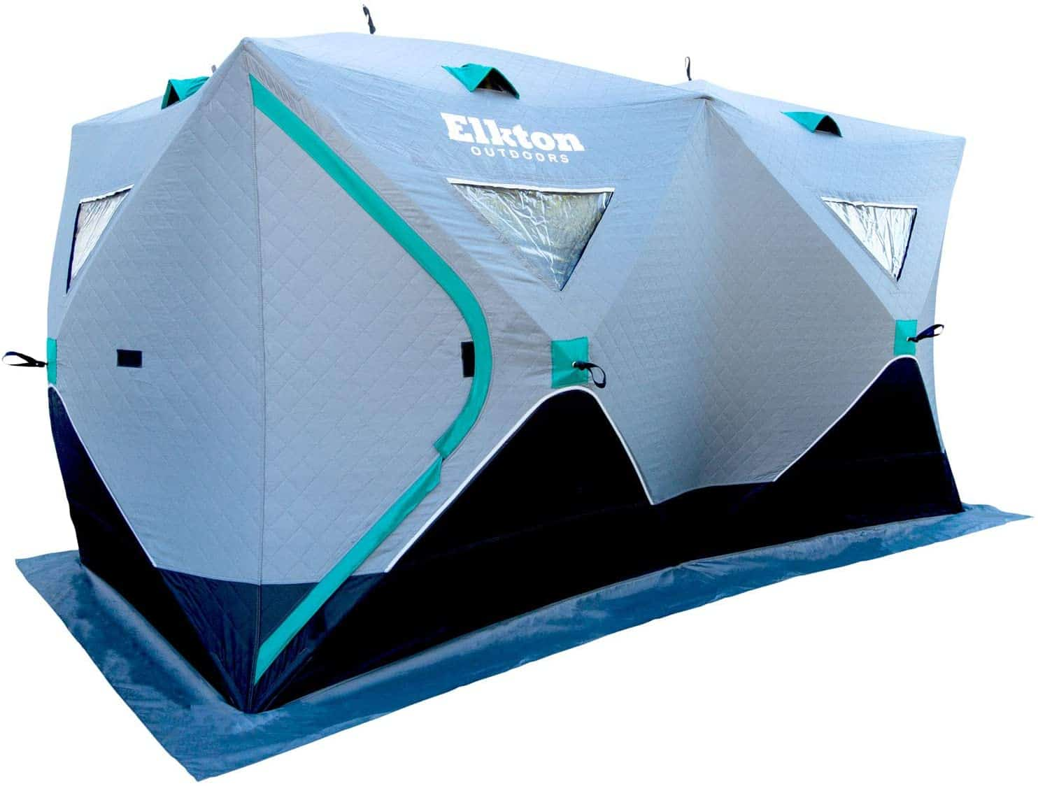 Portable Ice Fishing Tent by Elkton