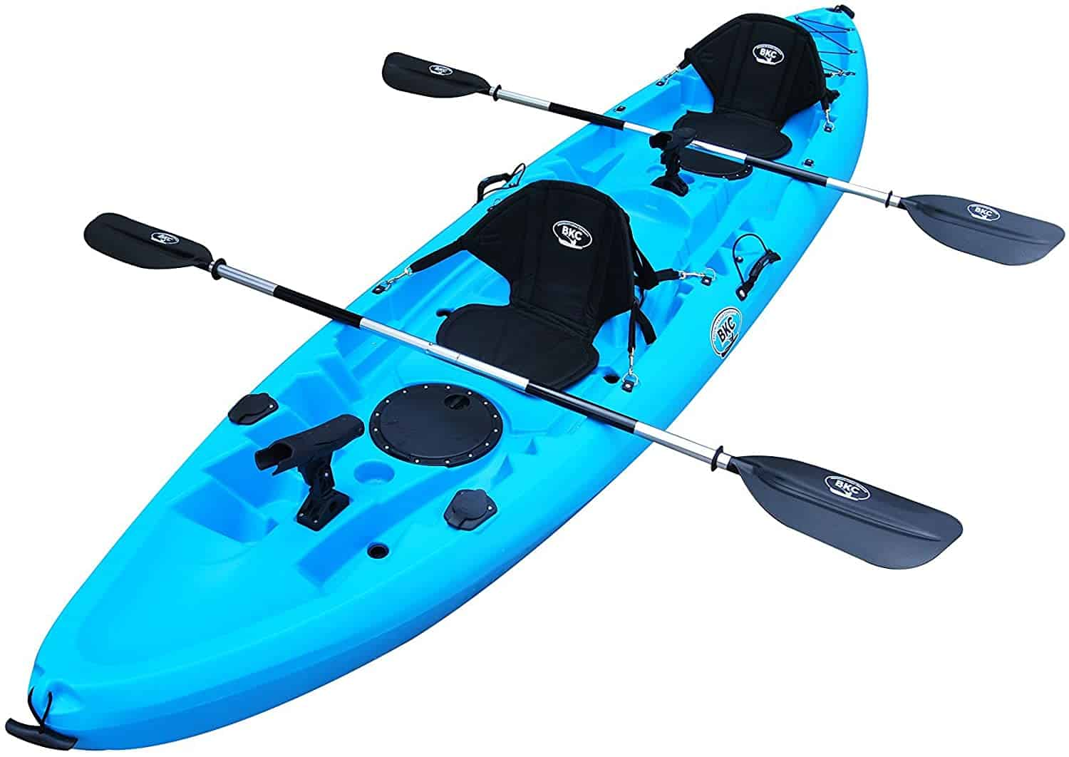 Tandem Fishing Kayak by the Brooklyn Kayak Company