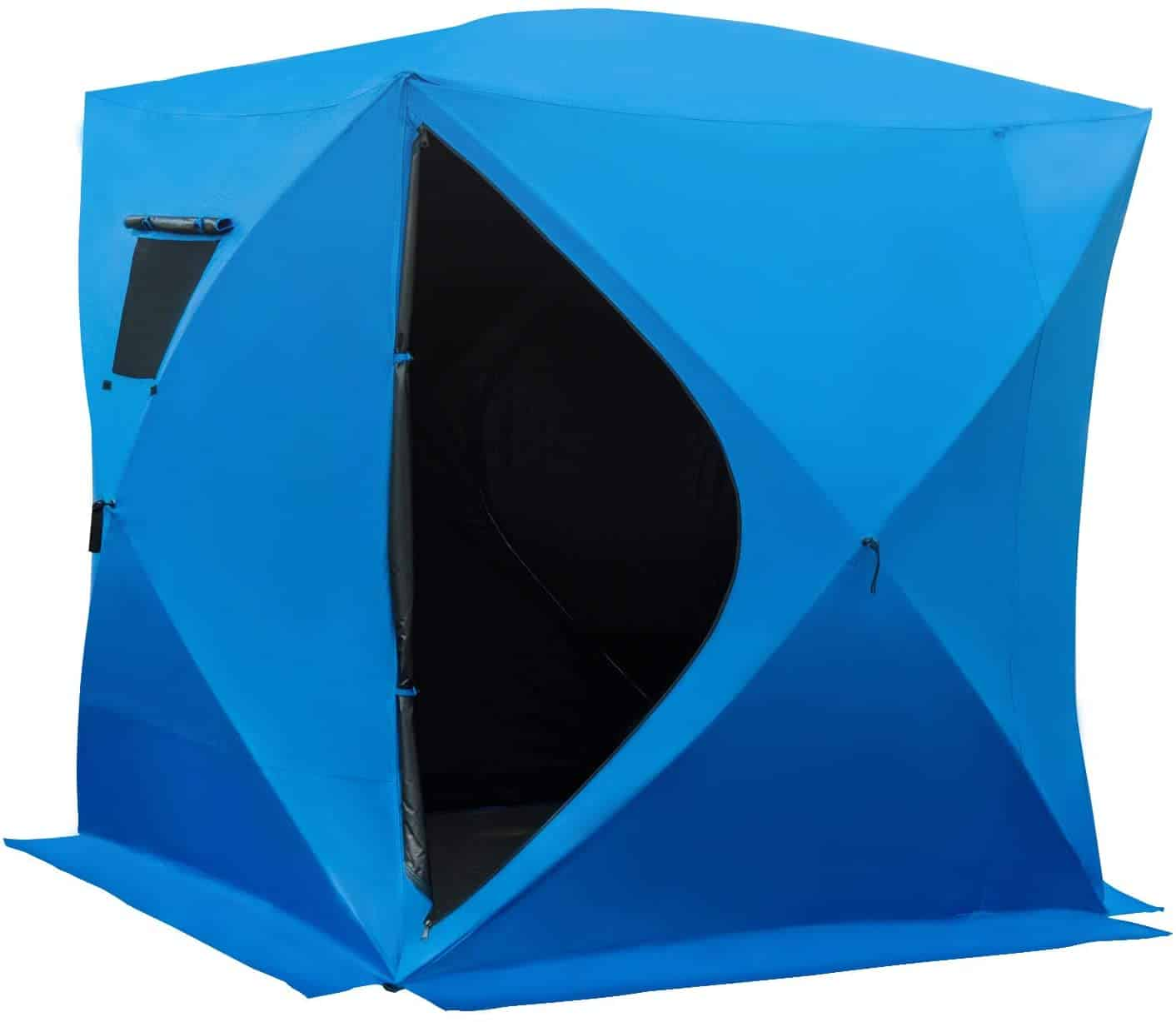 Waterproof Portable Pop-Up Ice Fishing Shelter by Outsunny