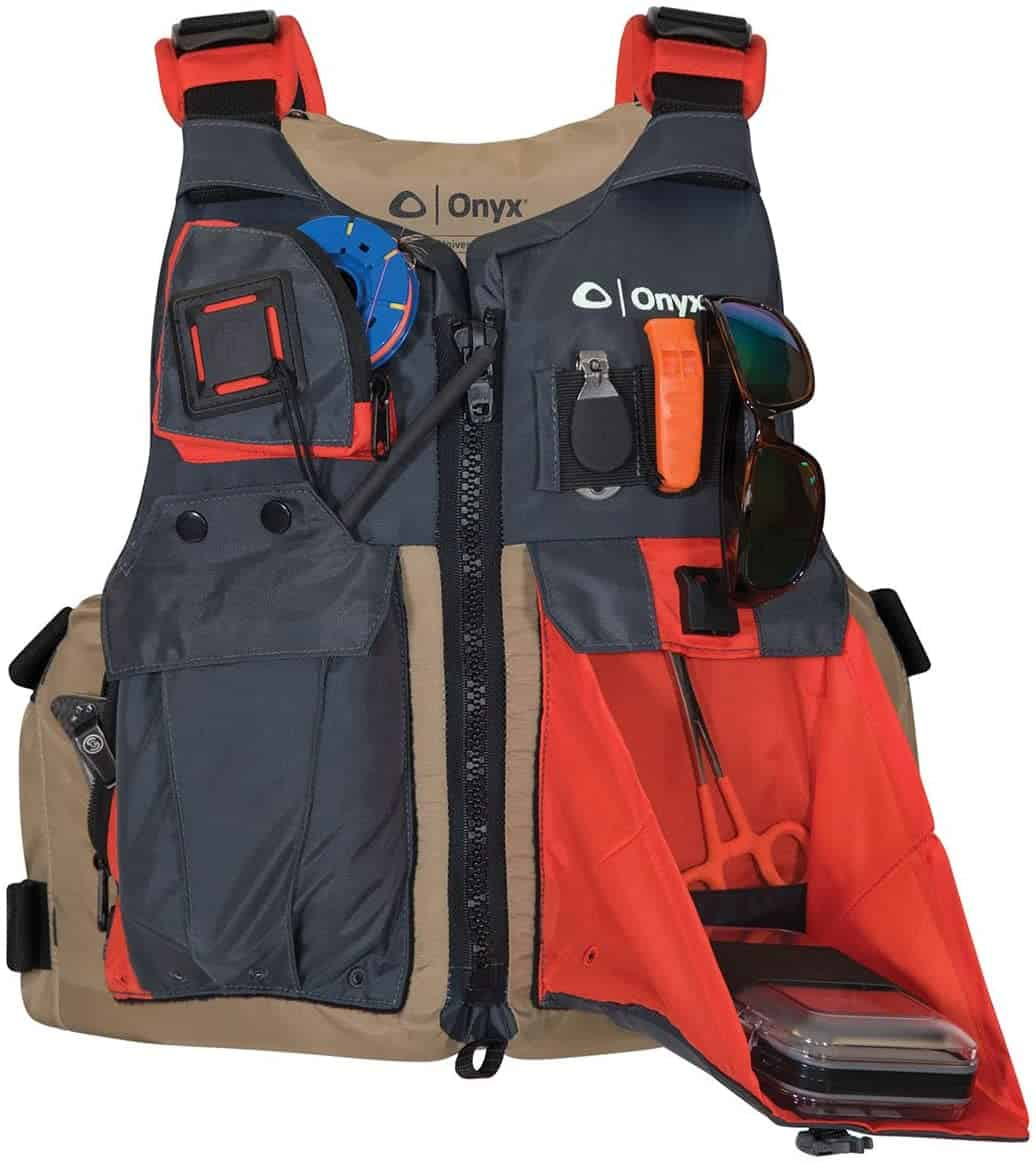 Fishing and Kayaking Personal Flotation Device by Onyx