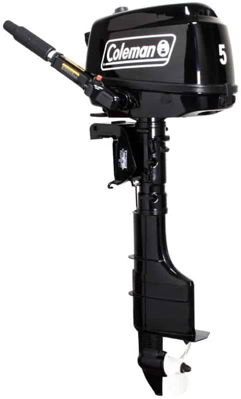 Outboard Boat Motor 5HP by Coleman