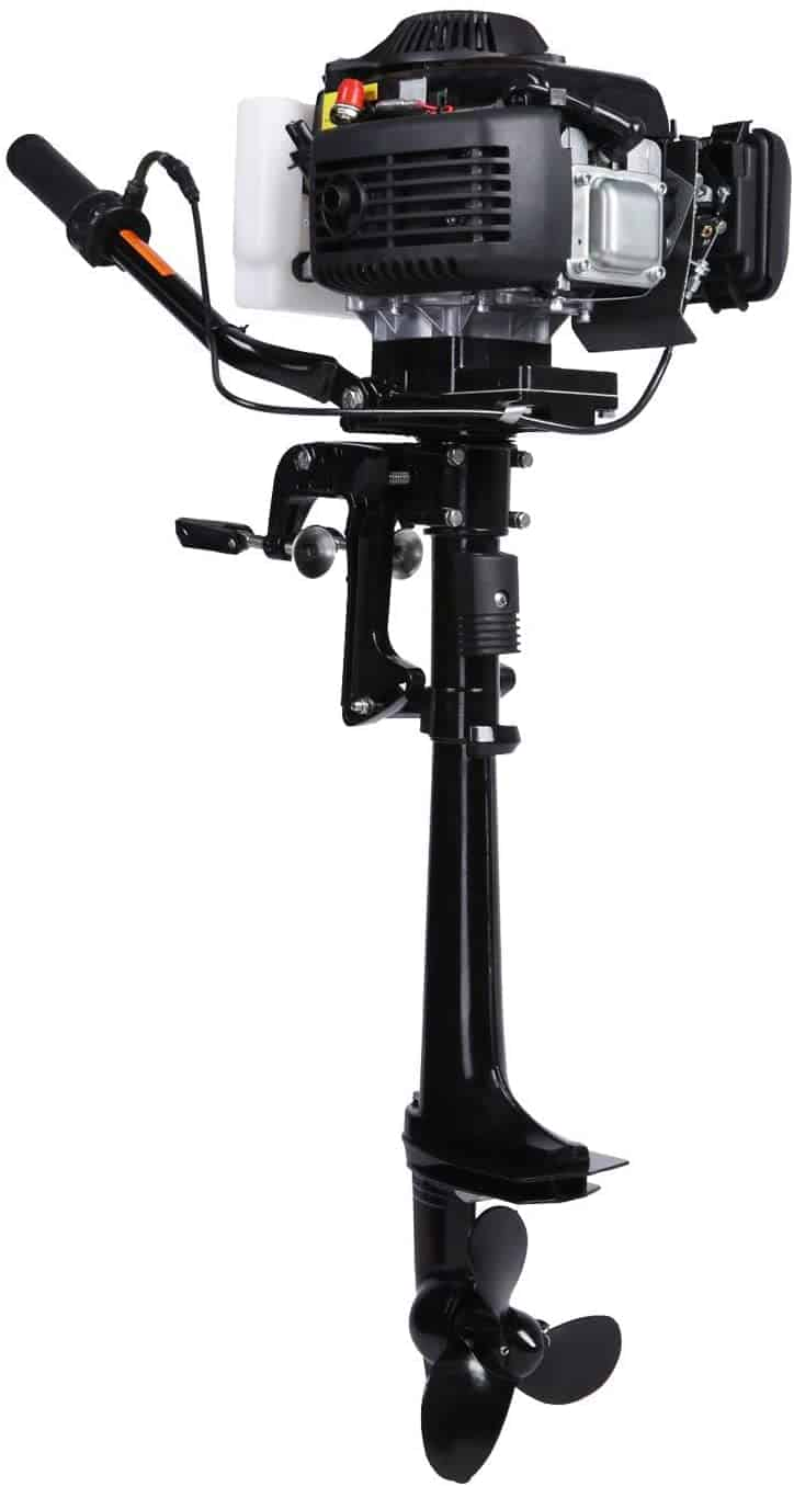 Outboard Inflatable Motor T4.0HP by Leadallway