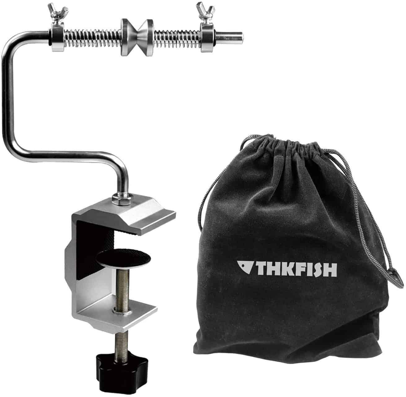 Portable Clamp Fishing Line Spooler by ThkFish