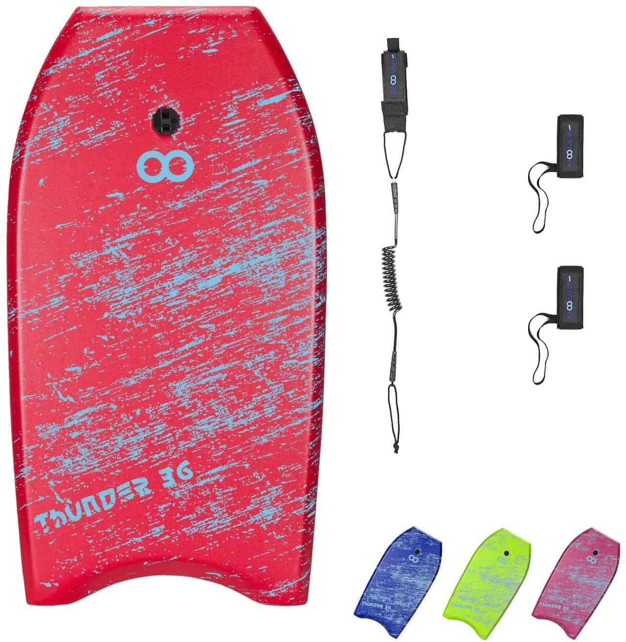 Premium Bodyboard for Kids (33 36-inch) by Woowave