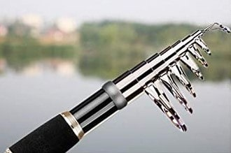 Retractable Telescopic Fishing Rod by Plusinno