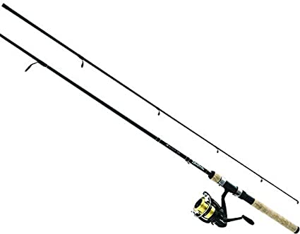 Six-Foot D-Shock Freshwater Fishing and Spinning Set by Daiwa