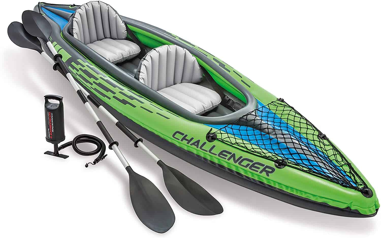 Tandem Kayak with Aluminum Oars by Intex