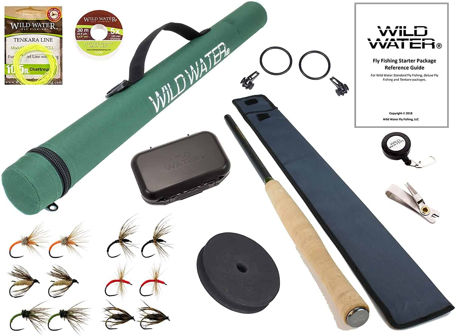 Telescopic Fly Fishing Rod Set by Wild Water