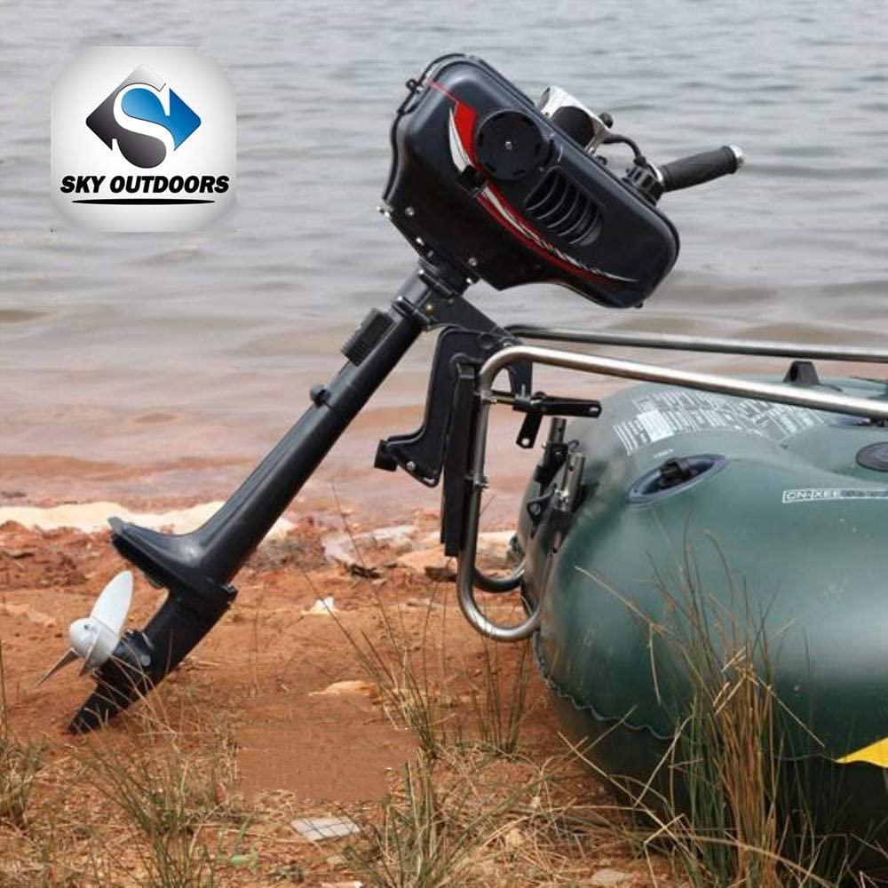 Two-Stroke Outboard Motor by Sky