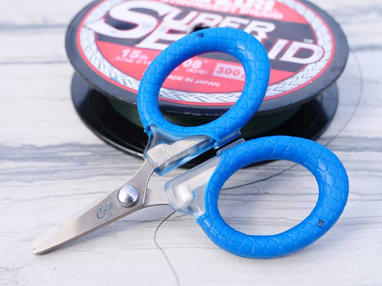 Blue Micro Scissors by Cuda