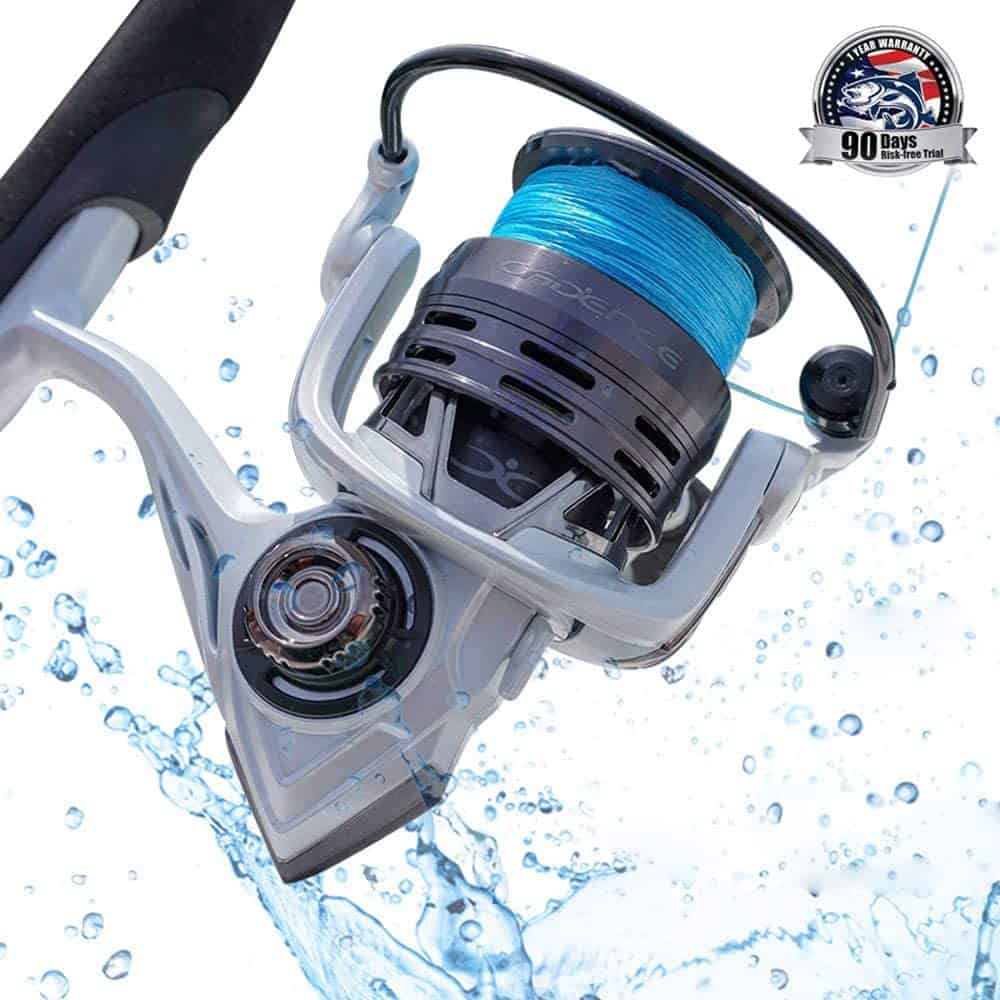 Spinning Fishing Reel by Cadence