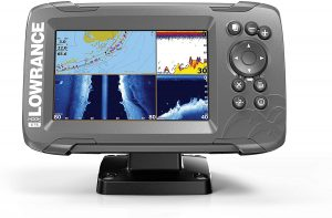 5-inch Fish Finder with Navionics by Lowrance - Side Imaging Fish Finders