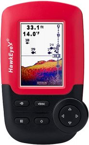 Fish Finder with Color Display by Hawkeye