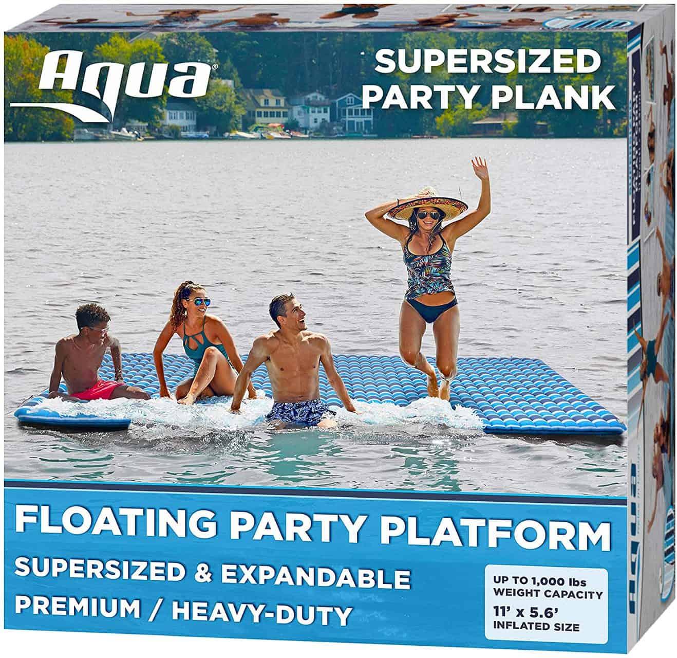 Floating Mat Island by Aqua – 3.9