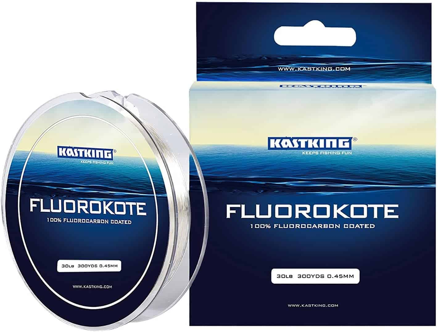 Fluorocarbon Fishing Line by KastKing