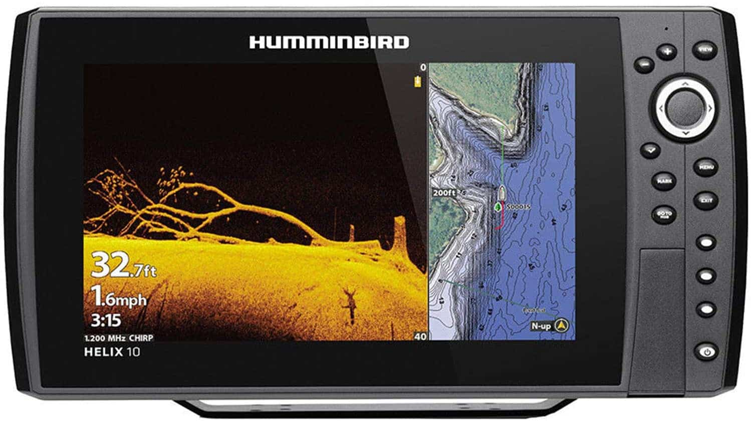 Helix 10 Fish Finder by Humminbird - Side Imaging Fish Finders