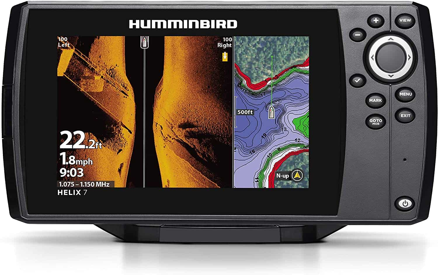 Helix 7 Fish Finder by Humminbird - Side Imaging Fish Finders 2