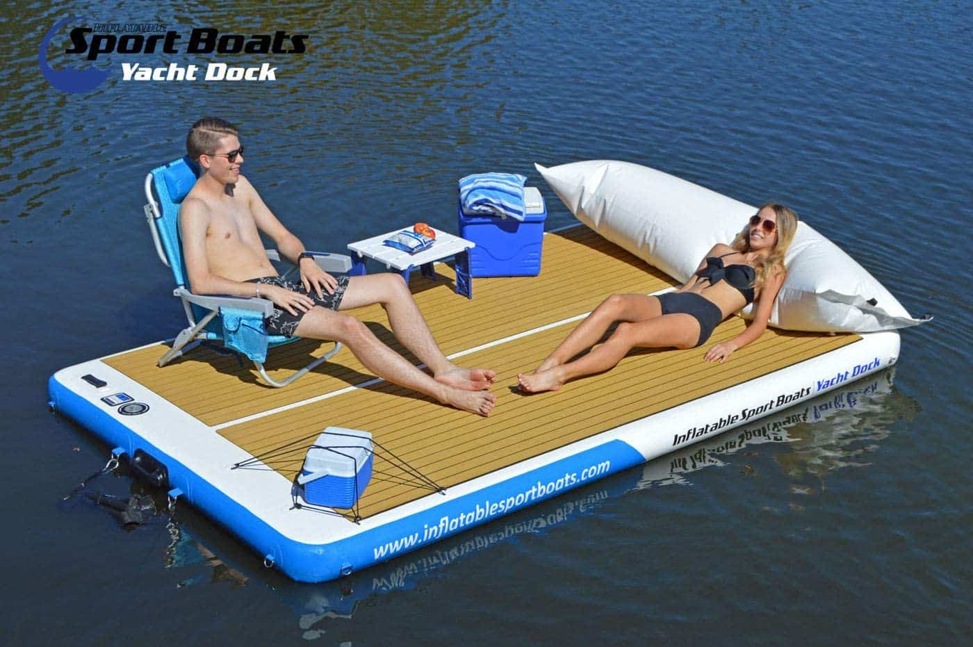 Inflatable Floating Mat by Inflatable Sport Boats