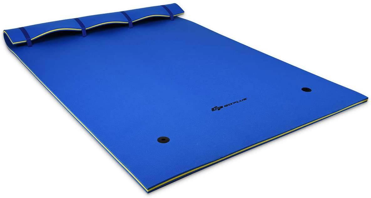 Tear-resistant Floating Water Mat by Goplus