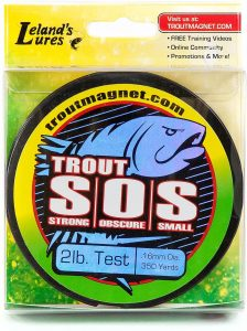 Trout Fishing Line by Trout Magnet