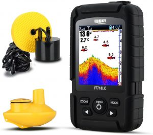 Wired and Wireless Fish Finder by Lucky
