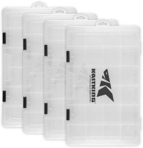 KastKing Plastic Fishing Tackle Box