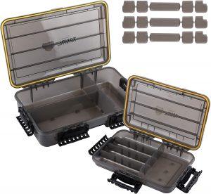 RUNCL Waterproof Fishing Tackle Box