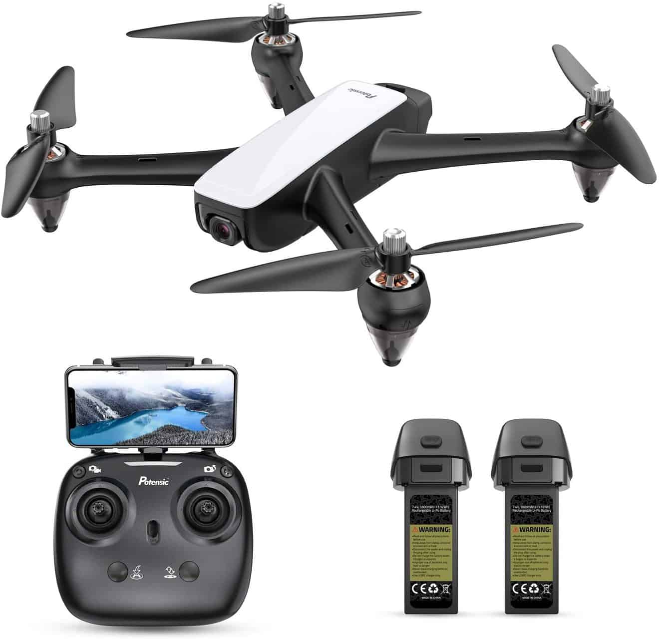 D60 GPS Drone Quadcopter by Potensic Store