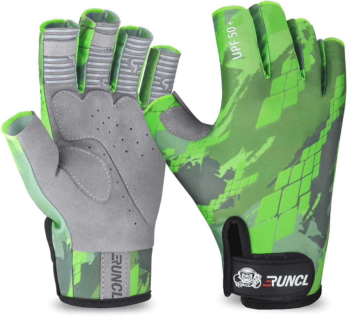 Fingerless Fishing Gloves by RUNCL
