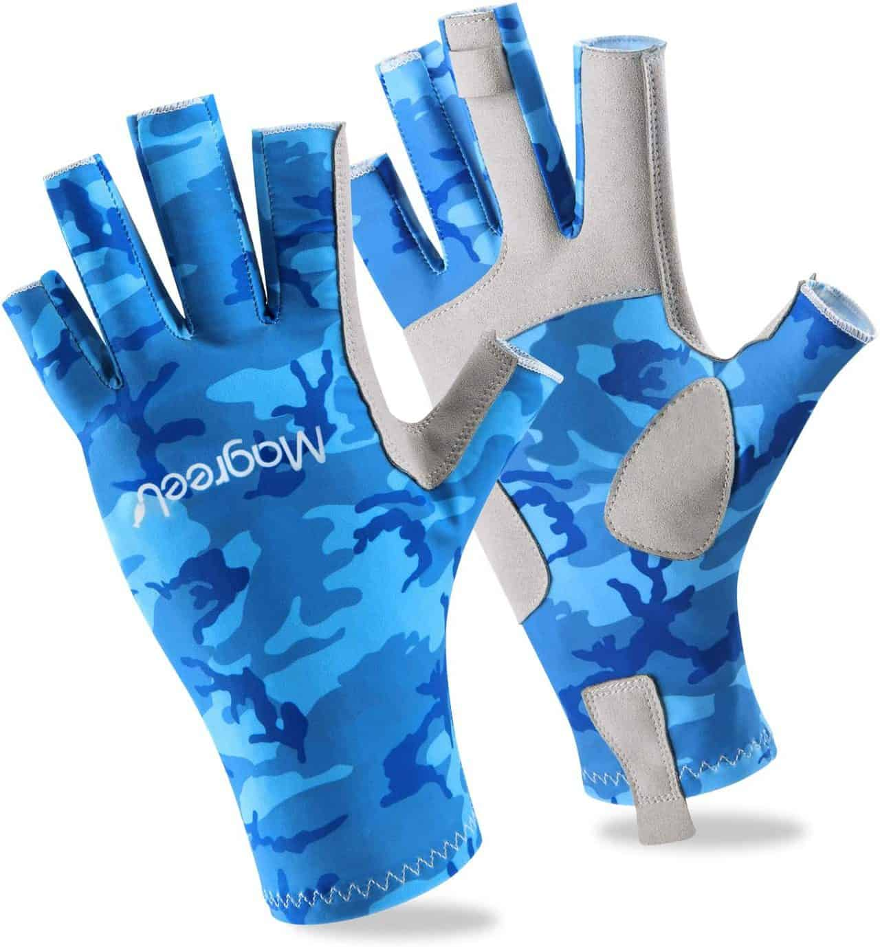 Fishing Gloves for Men and Women by Magreel