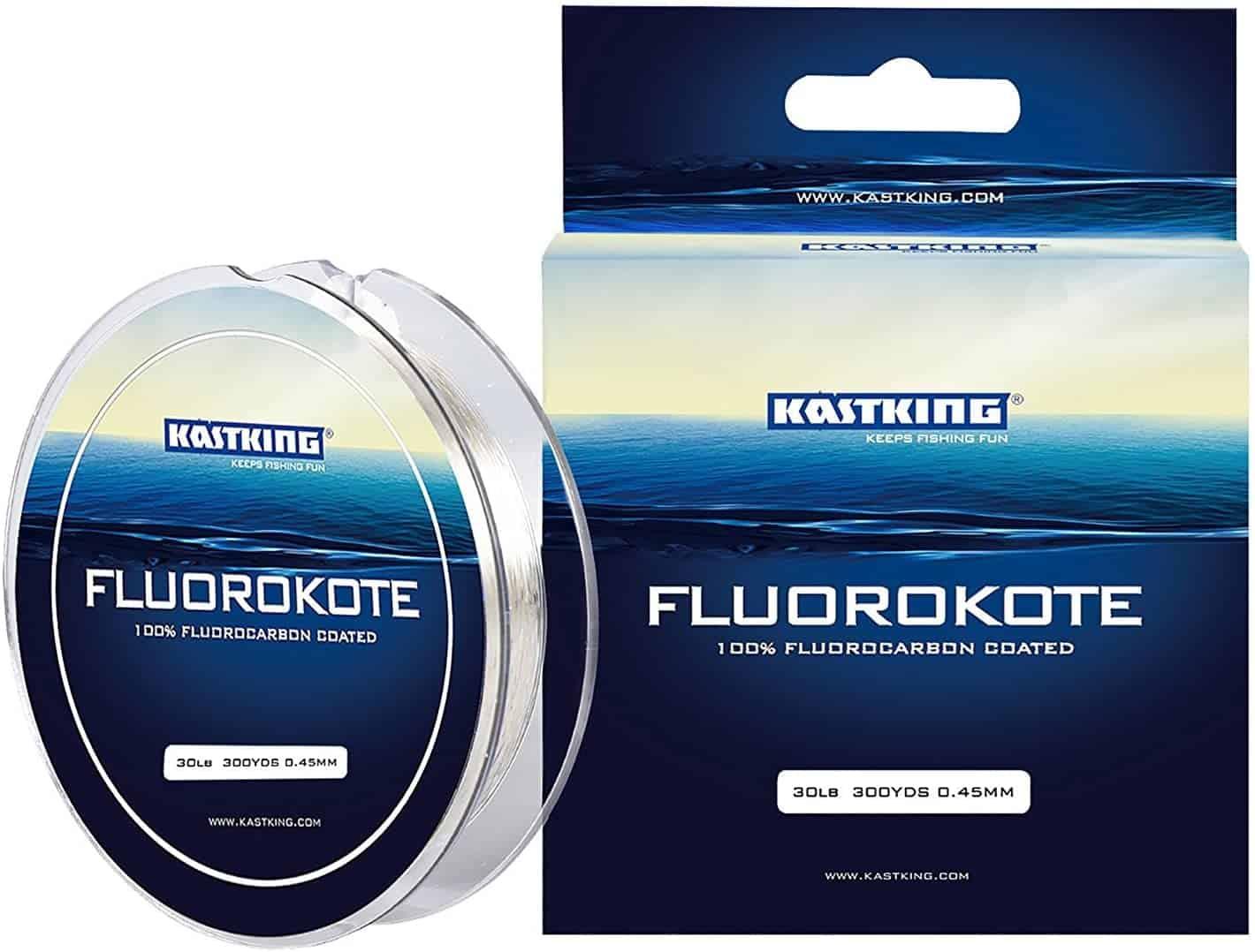 FluoroKote Fluorocarbon Fishing Line by KastKing